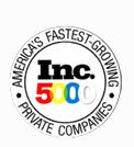 Listed in Inc 5000 - America's Fastest Growing Private Companies